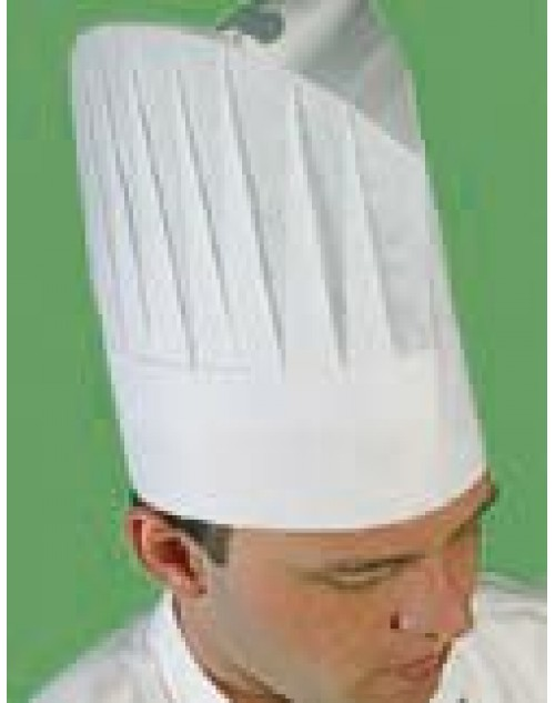 Gorro Chef Papel. Modelo Intercontinental. Pack-250 unidades