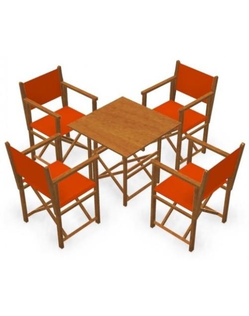 Conjunto de sillas y mesa en resina blanco car interior for Mesa y sillas en resina trenzada barata