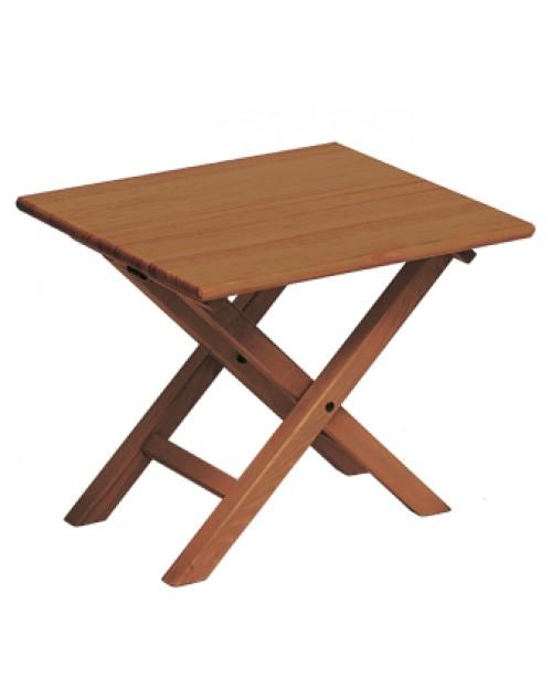 Mesa auxiliar de madera plegable menorquina - Mesas plegables auxiliares ...