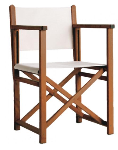 """Silla menorquina o silla de director modelo """"c"""" madera color ..."""