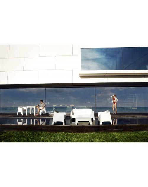 Sill n solid de polipropileno para restaurantes y exteriores - Sillon para exterior ...