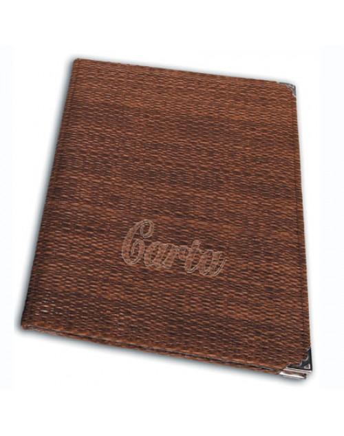 Carta Para Restaurantes Bambú tamaño DIN-A4 x 3 Unidades
