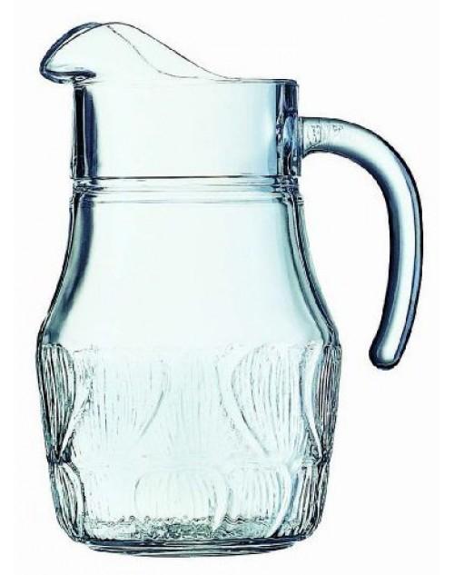 Jarra Vidrio Agua Fleur 1.3 l. Arcoroc x 6 Unidades