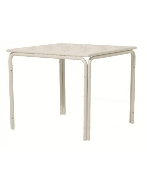 Mesa Alegría Aluminio Pintado Blanca