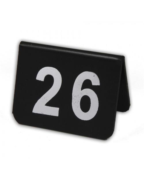 Numeración Para Mesas de Bares y Restaurantes con dos cifras PVC Engomado