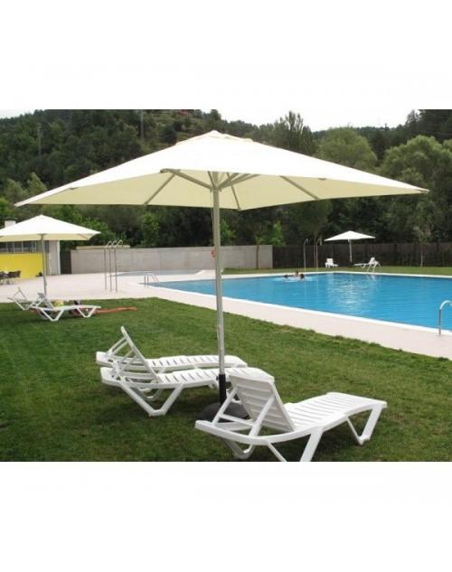 Parasoles para terrazas awesome sombrilla reclinable tipo for Recambio tela toldo