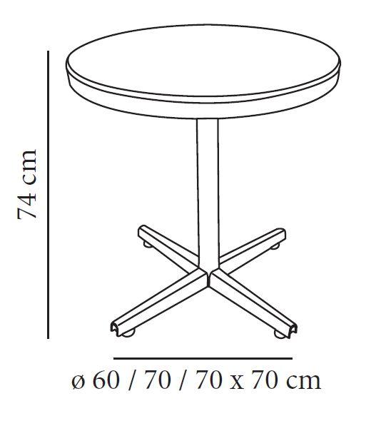 Medidas mesa redonda images for Mobiliario de un restaurante bar
