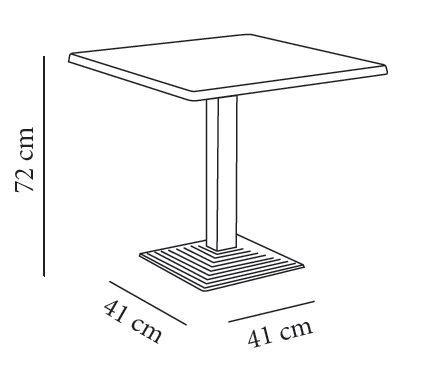 Mesas restaurantes medidas images for Mobiliario de un restaurante bar