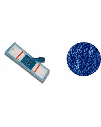 Mopa Tela Microfibra TERRY Azul c/ Ensamblaje Plegable. Pack-10 unidades