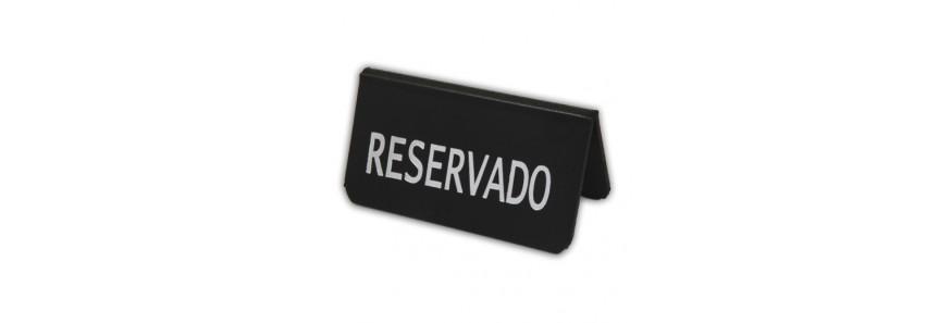 Reservados para Mesas de Bares Restaurantes y Cafeterías