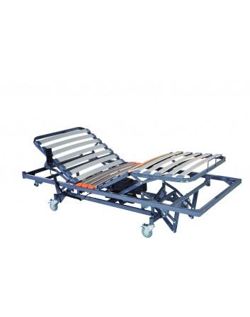 Cama articulada electrica 4 planos con carro elevador de compas 90x190