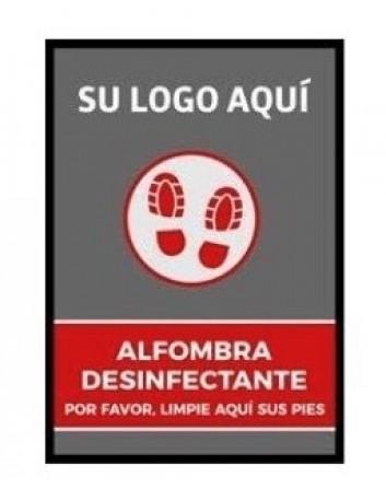 Alfombra Desinfectante de Zapatos Para Entrada a Comercios Prevención Coronavirus