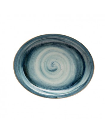 Fuente oval Artisan 29 x 27,5 cm x 12 unidades para bares y restaurantes Corona