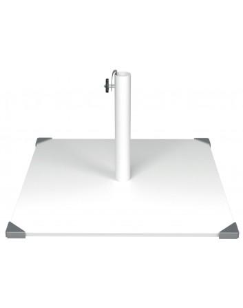 Base Para Parasoles de Acero 35 kg Cuadrada Canto Ezpeleta