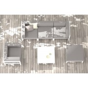 Conjunto Sofá Marine para terrazas y jardines Ezpeleta