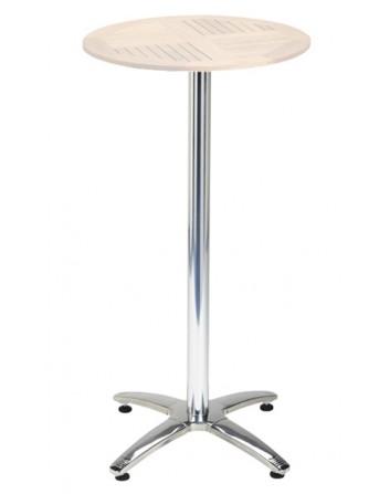 Mesa de aluminio Linux alta para exteriores de bares y restaurantes Ezpeleta