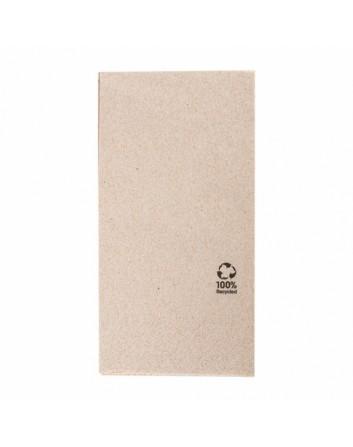 SERVILLETAS DE PAPEL ECOLÓGICAS FEEL GREEN PLEGADAS 1/8 40x40 CM. 2 CAPAS  TISSUE 18 G/M2 1800 UNIDADES GARCÍA DE POU
