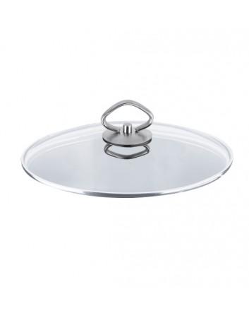Tapa de Cristal Para Wok 30 Ø cm. Inoxibar