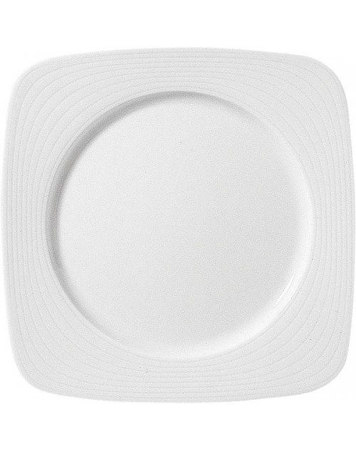 Plato Llano Cuadrado serie Arenas porcelana 26x26 cm 12 unidades para bares  y restaurantes Porvasal fd1606664072