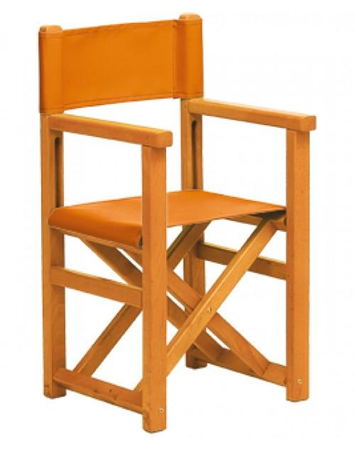 Silla menorquina infantil de madera plegable modelo f for Silla plegable infantil
