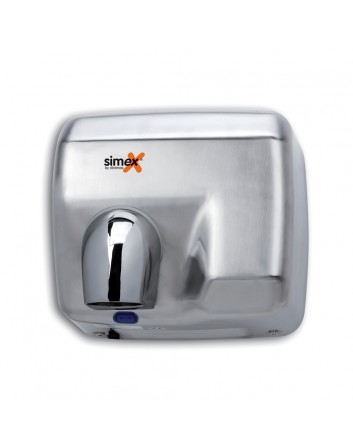 Secamanos de Aire Caliente con Sensor Satinado Inoxflow 2300W Simex