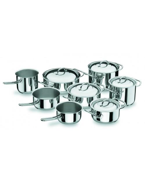 Batería de Cocina Profesional 8 Piezas Lacor