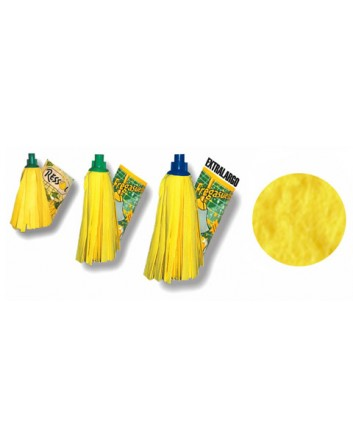 Fregona RESSOL Mod. Tiras Amarillas. Pack-20 unidades