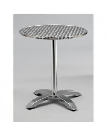 Mesa Max Para Bares y Restaurantes Pie Central Aluminio
