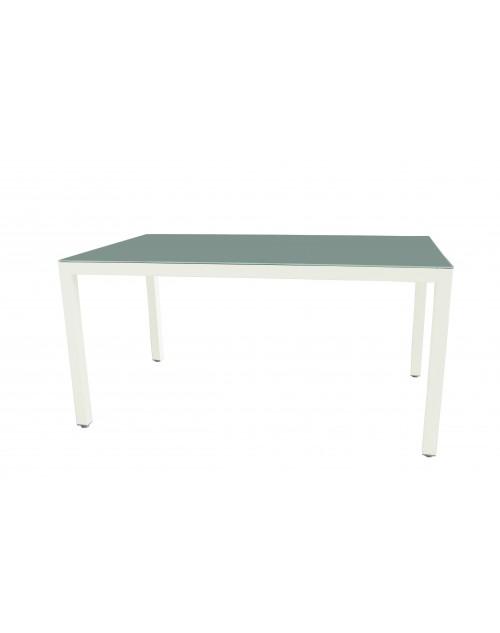 Mesa Tonic Aluminio y Cristal 150 x 90 Cm.