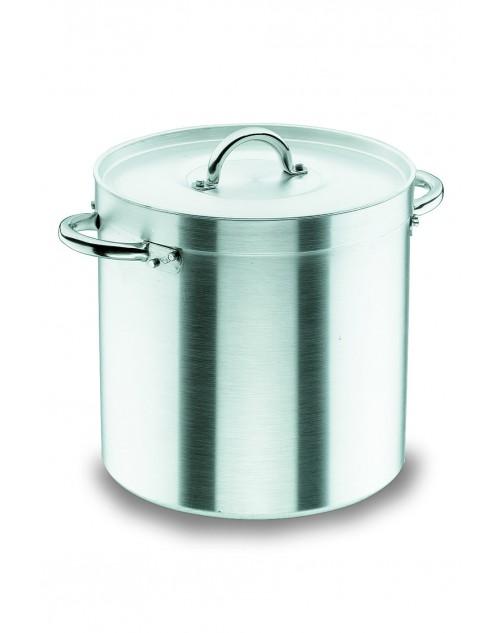 Olla Recta Chef Aluminio Profesional Para Hostelería Con Tapa