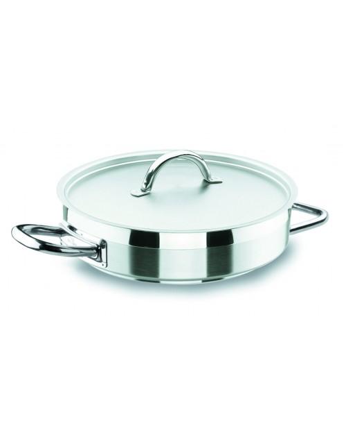 Paellera Chef Luxe Con Tapa Profesional Para Hostelería Lacor