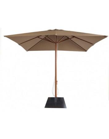 Parasol AM1 Aluminio 3x3m. Para Terrazas Bares y Restaurantes