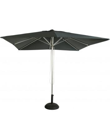 Parasol I1 Aluminio Brillante 3x3m. Para Terrazas Bares y Restaurantes Resol