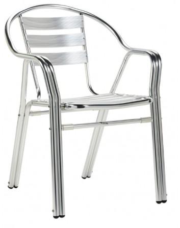 Sillón Córcega de Aluminio Para Bares Apilable Ezpeleta