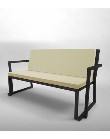 Sofá Barcino Para Exteriores Aluminio Anodizado Resol