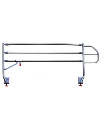 Barandillas abatibles de 3 tubosBarandillas abatibles de 3 tubos cromadas